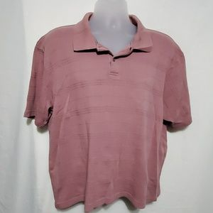ALFANI MENS POLO SHIRT SIZE XL EUC